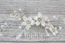 Wedding Hair Accessories Vintage Pearl Effect Bridal Vintage bridal Comb