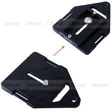 Dreieckig Kameraplatte Schnellwechselplatte für Stativkopf Kugelkopf 135 Kamera