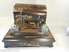 Antique Coromandel Desktop Writing Stand  ref 1518 7/6N29axy