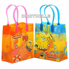 Spongebob Authentic Licensed Reusable Small Party Favor Goodie 12 Bags