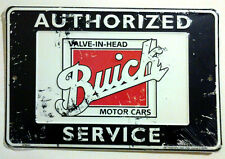 BUICK VINTAGE DISTRESSED STYLE METAL SIGN GARAGE WALL SHOP HOME DECOR MAN CAVE