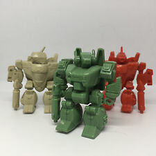 SET GBP VF-1J Armored & VF-1A Super Valkyrie Macross Battroid SD Gashapon Bandai