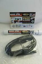 TV Antenna MAGIC STICK FREE INDOORS/OUTDOORS FREE HD  12 Ft Cable Camping RV'S
