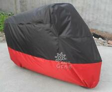 XXL Red Indoor Motorcycle Cover For Harley Davidson Softail Custom FXSTC