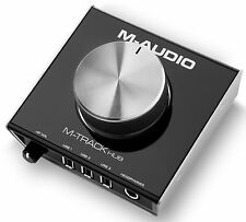 M-Audio M-Track Hub USB Monitoring Interface w/ Built-In 3-Port Hub 24bit/48kHz