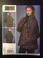 Vogue V1277 (Sz: XS-M) | KOOS | Misses Reversible Coat *NEW*