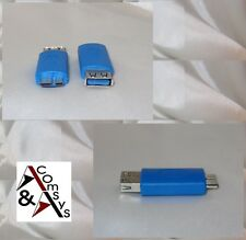 Adapter Super Speed USB 3.0 Type A Buchse auf Micro USB Typ B Stecker