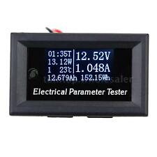 Mini 33V 10A OLED Electrical Parameter Meter Voltage Current Power Tester W4F5