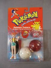 Vintage 1999 Pokemon Trainer Misty Action Figure Jigglypuff Nintendo MOC NEW