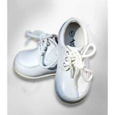 Baby Boys Formal Shoes, Toddler White Ivory Black Shoes, Baby Boys Wedding Shoes