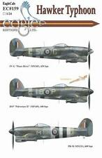 EagleCals 1/24 decal Hawker Typhoon Part I - #159-24 - for Airfix