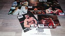 jean claude van damme KARATE TIGER   ! jeu photos cinema  lobby card