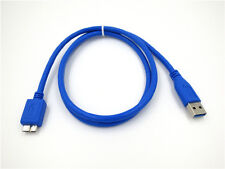 USB 3.0 PC Data Cable Cord For Transcend 1 TB StoreJet Hard Drive TS1TSJ25M3