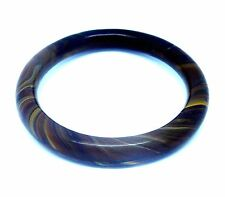 Tiger's Eye Stone Bangle/inside diam 64mm/ Inventory #418