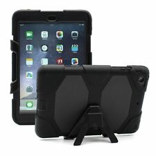 Waterproof Dirt Shockproof Stand Case Cover For iPad2/3/4 iPad Air1/2 Mini1/2/3
