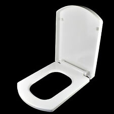 LUXURY CURVE SOFT CLOSE HEAVY DUTY TOILET SEAT WITH FIXING