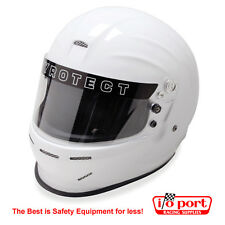 Pyrotect Pro Sport Helmet, Large, SA2015 White New Low Price!