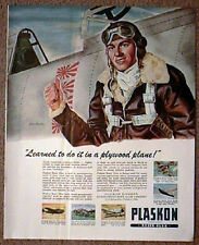 U.S. Fighter Pilot with Japanese Kills WWII Ad