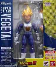 DRAGONBALL S.H.Figuarts Super Saiyan Vegeta Premium Color Edition Action Figure