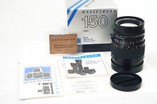 HASSELBLAD SONNAR CF 150MM F/4 T* IN FACTORY BOX.