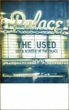 THE USED Live & Acoustic 2016 Ltd Ed RARE Poster+FREE Hardcore/Metal/Punk Poster