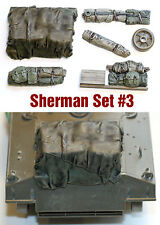 1/35 scale resin WW2 Sherman tank Engine Deck and Stowage Sets #3