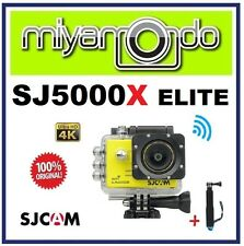 SJCAM Original SJ5000X Elite 4K WiFi Action Camera (Yellow) + Monopod