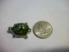 NEW GANZ LUCKY LITTLE TURTLE CHRISTMAS HOLLY POCKET TOKEN