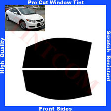 Pre Cut Window Tint Honda Civic 2 Doors Coupe 2013-... Front Sides Any Shade
