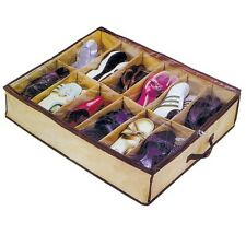 Shoe Store Space Saving Shoe Organiser Holds up to 12 pairs of shoes Boot Store