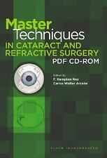 Master Techniques in Cataract and Refractive Surgery PDF CD-ROM, Optometry, Opht