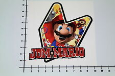JDM MARIO Aufkleber Sticker Bombing Decal V8 OEM Super Old School Nintendo Mi289