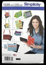 Simplicity 1339 NEW Sewing Pattern Cover for Tablet E-Reader Phone