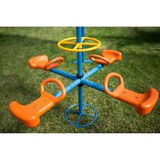 IronKids Four Station Fun Filled Merry Go Round