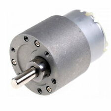12V DC 60RPM High Torque Gear Box Electric Motor New - UK SELLER