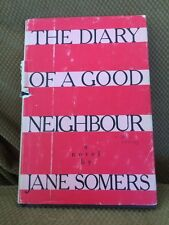The Diary Of A Good Neighbor 1st Edition Jane Somers Doris Lessing