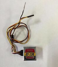 VERY NICE HITEC GY 130 GY130 GY-130 PIEZO RATE HELICOPTER HELI AIRPLANE GYRO !!