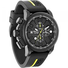 OROLOGIO SECTOR UOMO 450 CHRONO BLACK GENT WATCH R3271776001 (P.List. Eur 299)
