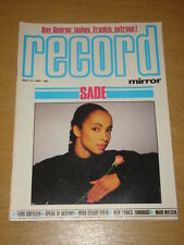 RECORD MIRROR 1984 MAY 12 SADE COSTELLO BOY GEORGE SOD