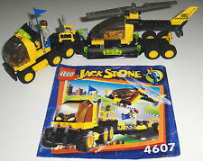 LEGO SET 4607 - JACK STONE RES-Q COPTER TRANSPORT, Complete with Instructions