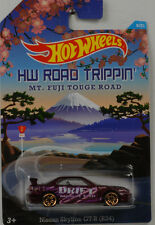 HW Road Trippin Fuji Nissan Skyline GT-R R34 1:64 Hot Wheels USA CBJ03