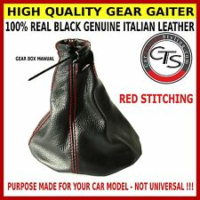 Vauxhall / Opel Corsa B Holden Barina SB RED STITCH gear shift gaitor boot