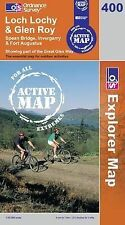 Loch Lochy and Glen Roy - OS Explorer ACTIVE Map 400 (NEW 2007 folded sheet map)