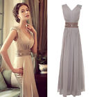 AU Stock Sexy Women Wedding Party Gown Prom Ball Evening cocktail Bridal Dress
