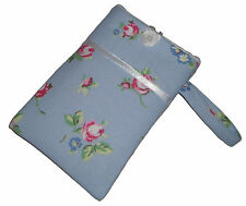 ROSE BLU shabby chic mobile Smartphone iPod Iphone Custodia Cover sleeve Bag New