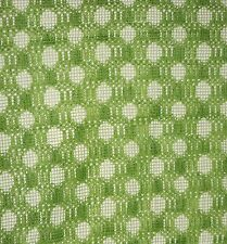"""Vintage Pair of Lime Green Lace Curtains Each Panel is 65"""" x 72"""""""