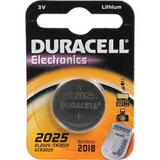 4 x Duracell CR2025 3V Lithium Coin Cell Battery 2025