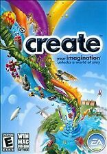 Create~A game powered by imagination, Game Play for the whole family 2010 PC NEW