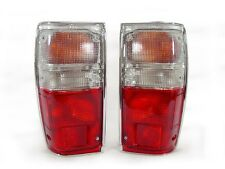 DEPO 1984 1985 1986 1987-1988 TOYOTA PICKUP TRUCK 2WD 4WD RED/CLEAR TAIL LIGHTS