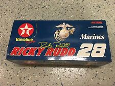Ricky Rudd #28 Texaco Armed Forces Marines NASCAR Action 1:18 1 of 2004